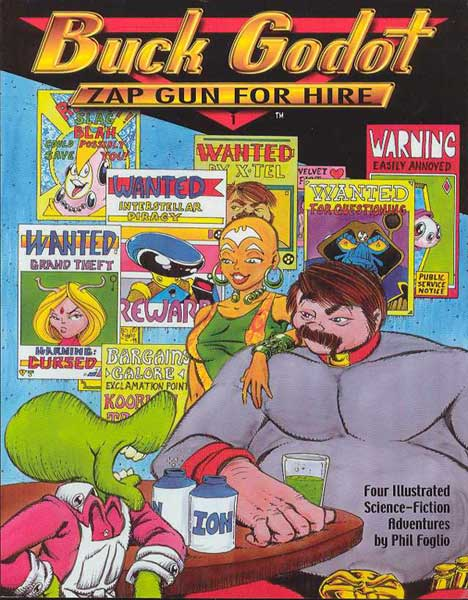 Image: Buck Godot Vol. 01: Zap Gun for Hire SC  - Studio Foglio