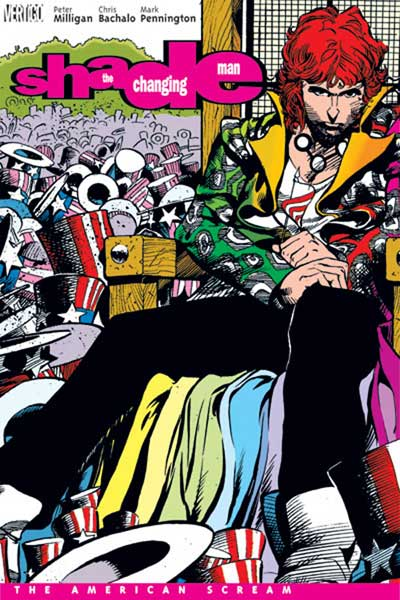 Image: Shade, the Changing Man: The American Scream SC  - DC Comics