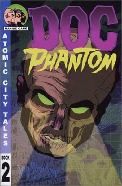 Image: Atomic City Tales Vol. 02: Doc Phantom SC  - Oni Press Inc.
