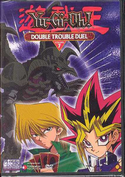 Image: Yu-Gi-Oh! Vol. 7: Double Trouble: Duel - Edited DVD  -