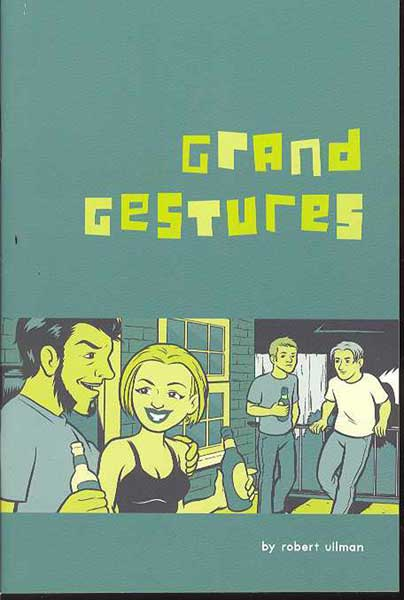 Image: From the Curve: Grand Gestures One-Shot  - Alternative Comics