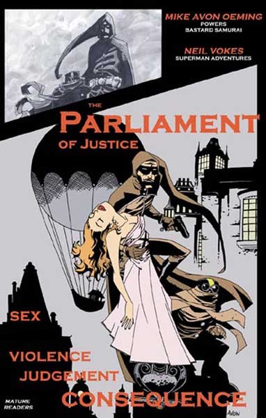 Image: Parliament of Justice  - Image Comics