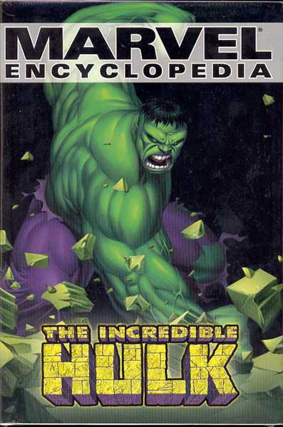 Image: Marvel Encyclopedia Vol. 03: Hulk HC  - Marvel Comics
