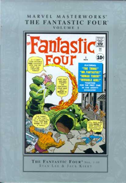 Image: Marvel Masterworks: Fantastic Four Vol. 01 HC  - Marvel Comics