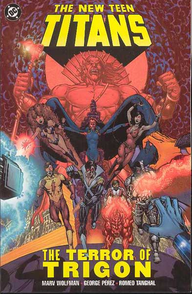 Image: New Teen Titans: The Terror of Trigon SC  - DC Comics