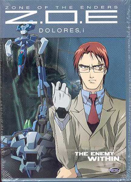 Image: Zone of the Enders: Dolores Vol. 4: The Enemy Within DVD  -