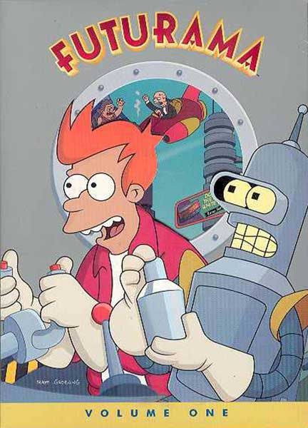 Image: Futurama Vol. 1 Box Set DVD  -