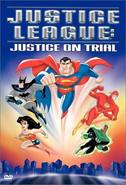 Image: Justice League: Justice On Trial DVD  -
