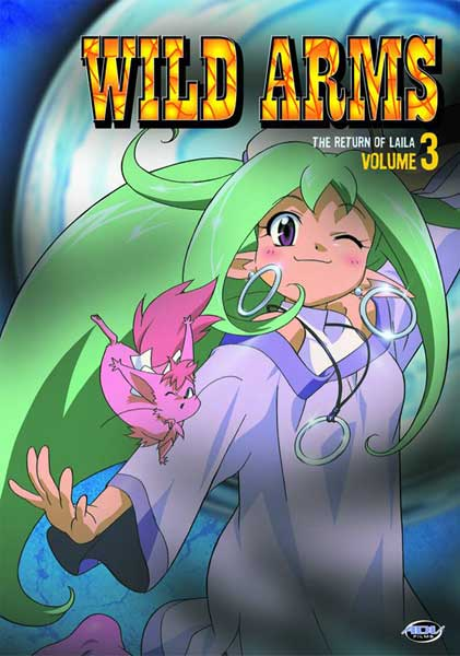 Image: Wild Arms Vol. 3: The Return of Laila DVD  -