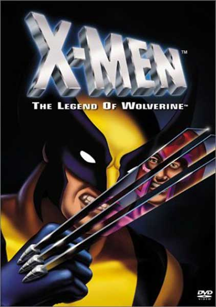 Image: X-Men: Legend of Wolverine DVD  - Marvel Comics