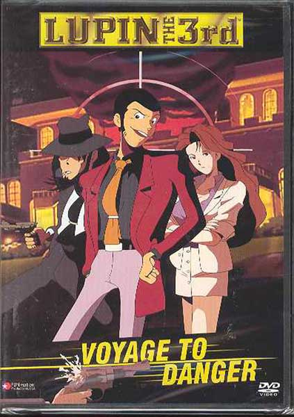 Image: Lupin the 3rd: Voyage To Danger DVD - Uncut  -