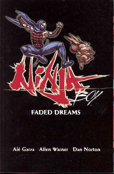 Image: Ninja Boy: Faded Dreams SC  - DC Comics
