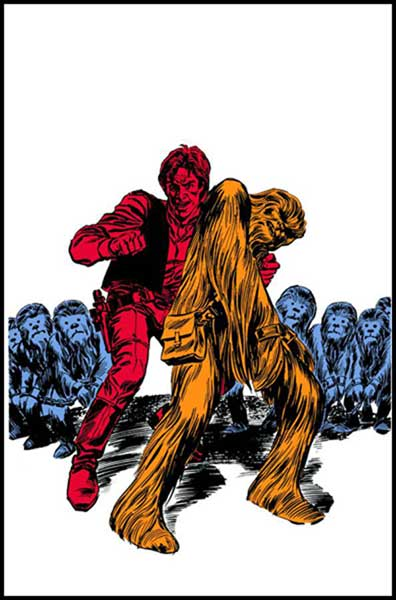 Image: Star Wars: A Long Time Ago Vol. 06: Wookiee World SC  - Dark Horse Comics