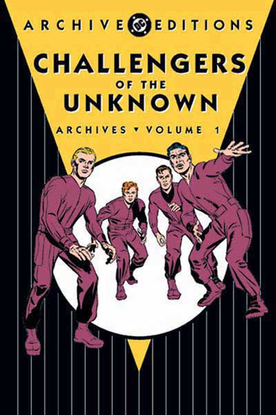 Image: Challengers of the Unknown Archives Vol. 01 HC  - DC Comics