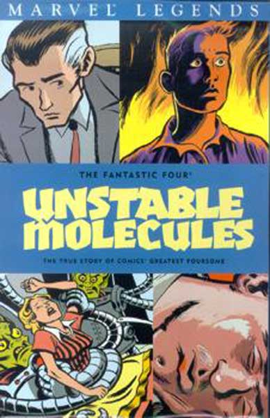 Image: Fantastic Four Legends Vol. 01: Unstable Molecules SC  - Marvel Comics