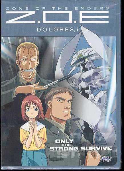Image: Zone of the Enders: Dolores Vol. 5: Only the Strong Survive DVD  -