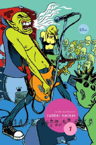 Image: Rubber Necker #1 - Alternative Comics