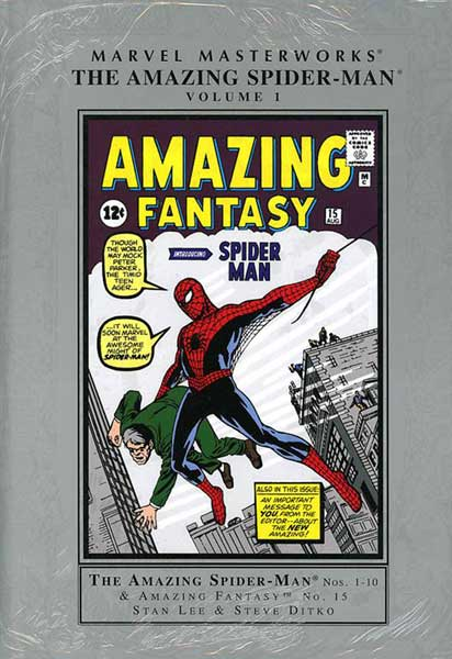 Image: Marvel Masterworks: Amazing Spider-Man Vol. 01 HC  - Marvel Comics