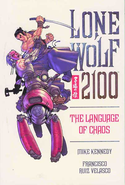 Image: Lone Wolf 2100 Vol. 02: The Language of Chaos SC  - Dark Horse Comics