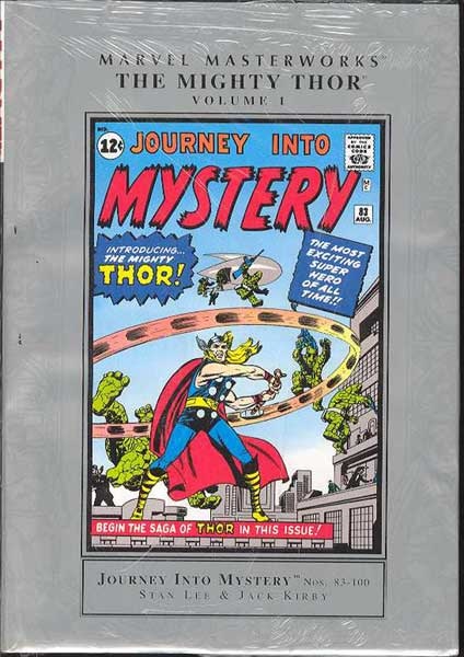 Image: Marvel Masterworks: Mighty Thor Vol. 01 HC  - Marvel Comics