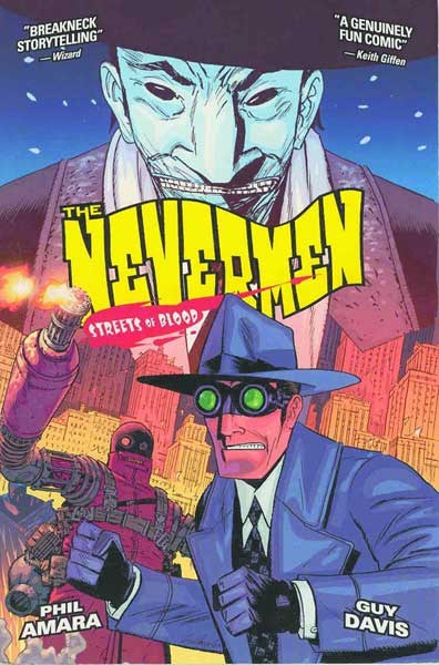 Image: Nevermen Vol. 2: Streets of Blood SC  - Dark Horse Comics