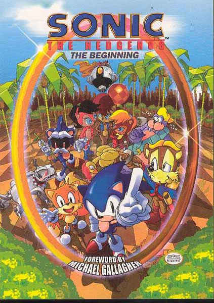 Image: Sonic the Hedgehog: The Beginning SC  - Archie Comic Publications