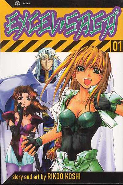 Image: Excel Saga Vol. 01 SC  - Viz Media LLC