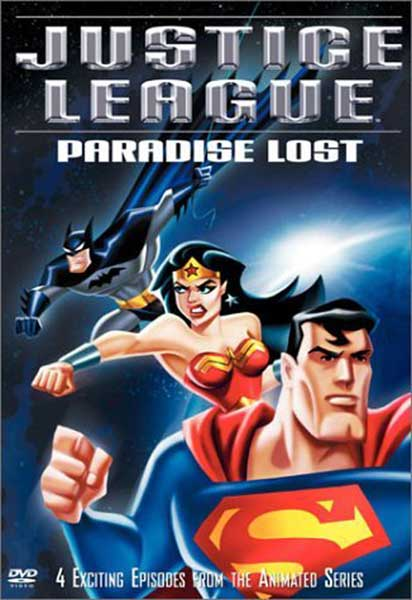 Image: Justice League: Paradise Lost DVD  -