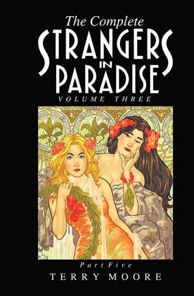 Image: Complete Strangers in Paradise Book Three Part 5 HC  - Abstract Studios