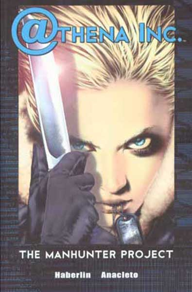 Image: Athena Inc. Vol. 01: Manhunter Project SC  - Image Comics