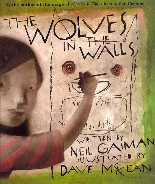 Image: Neil Gaiman's Wolves in the Walls HC  -