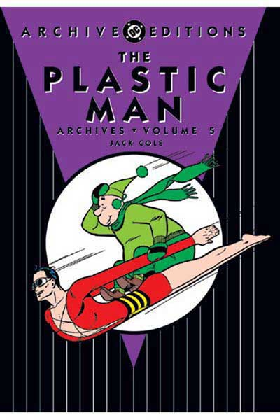 Image: Plastic Man Archives Vol. 05 HC  - DC Comics