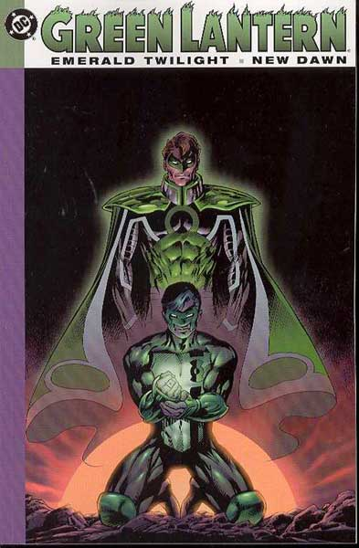 Image: Green Lantern: Emerald Twilight / New Dawn SC  - DC Comics