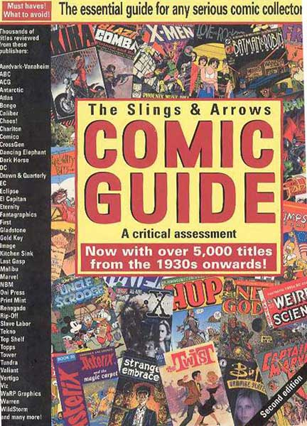 Image: Slings and Arrows Comic Guide - Revised Ed. SC  -
