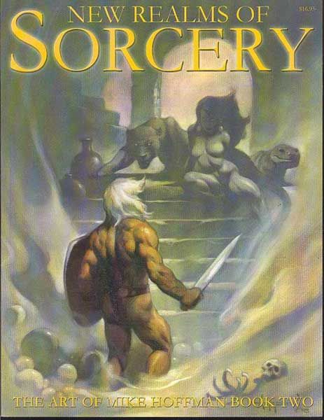 Image: New Realms of Sorcery: Art of Mike Hoffman Sketchbook SC  -