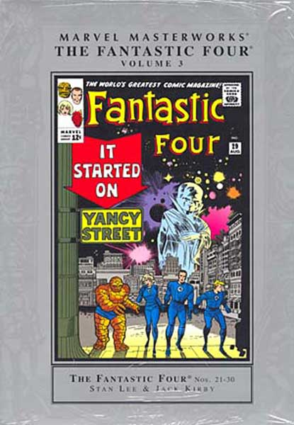 Image: Marvel Masterworks: Fantastic Four Vol. 03 HC  - Marvel Comics