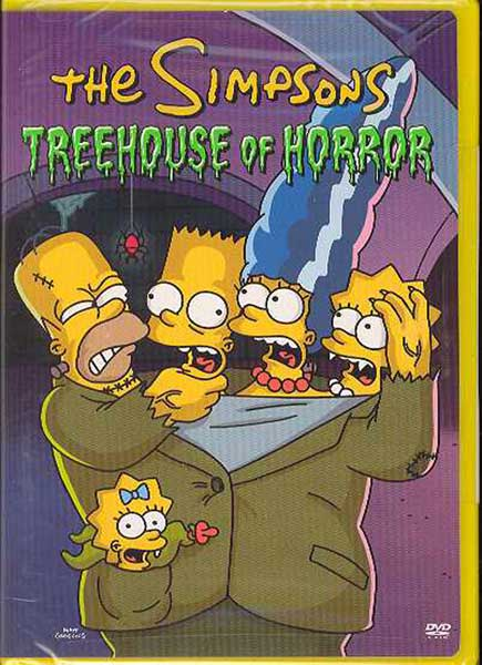 Image: Simpsons: Treehouse of Horror DVD  -