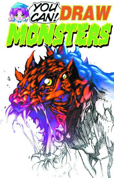 Image: You Can Draw Monsters SC  - Antarctic Press