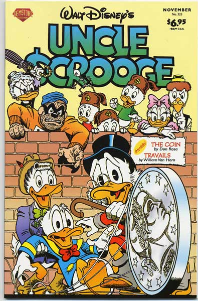 Image: Uncle Scrooge #323 - Gemstone Publishing