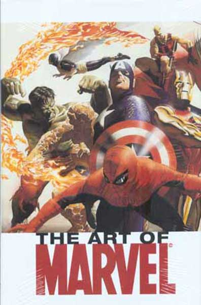 Image: Art of Marvel Comics Vol. 01 HC  - Marvel Comics