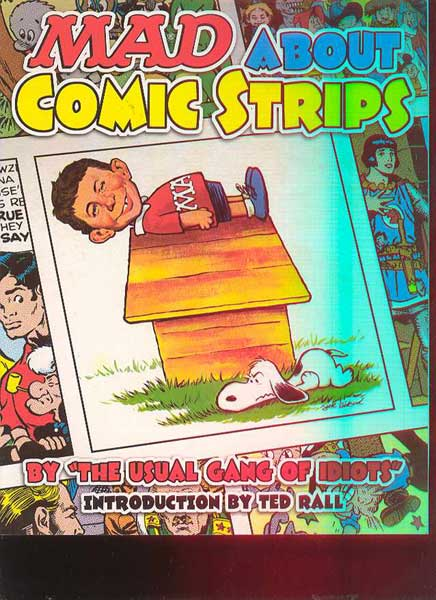 Image: Mad About the Comic Strips SC  - DC Comics