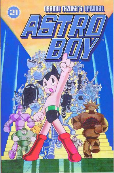 Image: Astro Boy Vol. 21 SC  - Dark Horse Comics