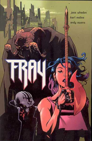 Image: Fray: Future Slayer SC  - Dark Horse Comics