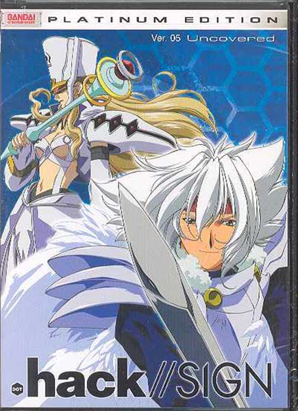 Image: .Hack//Sign Vol. 05: Uncovered DVD  -