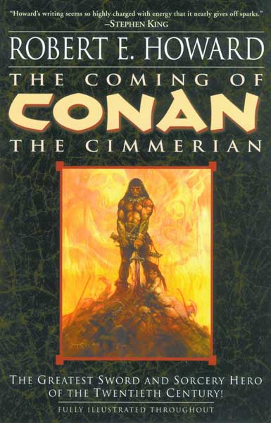 Image: Robert E. Howard: Coming of Conan the Cimmerian SC  -