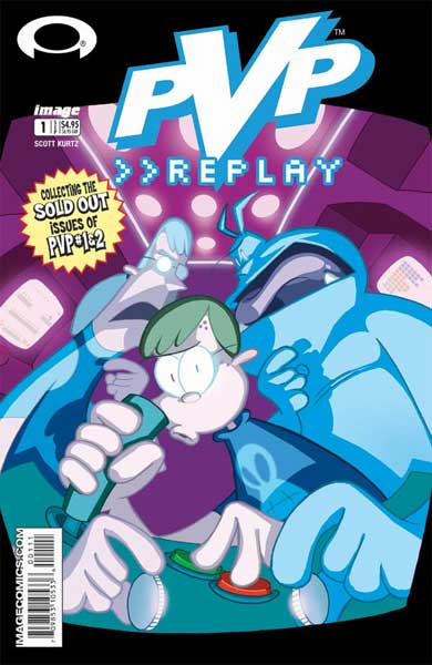Image: PvP Collected Edition Vol. 01: Replay SC  - Image Comics