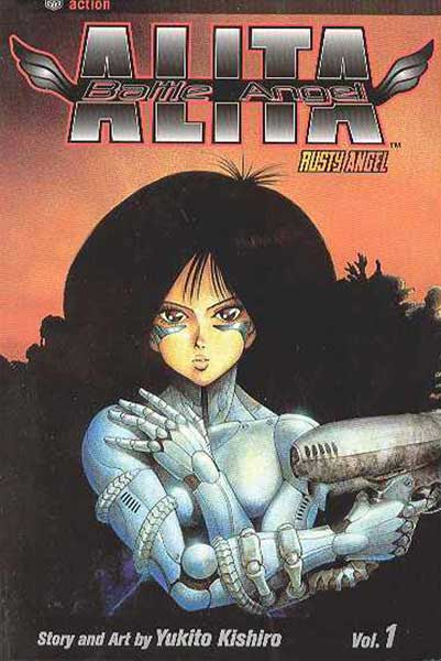 Image: Battle Angel Alita Vol. 01 SC  - Viz Media LLC