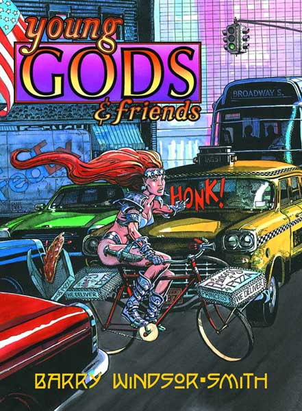Image: Barry Windsor-Smith's Young Gods & Friends HC  - Fantagraphics Books
