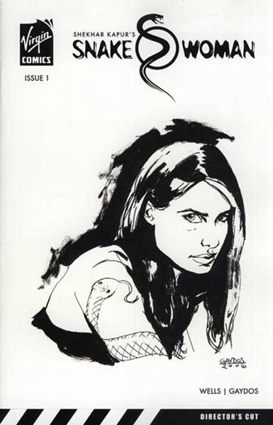 Image: Snakewoman  (Gaydos sketch variant) - Virgin Comics