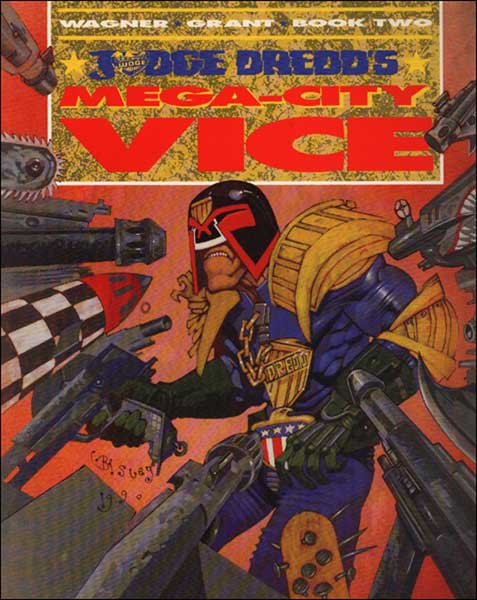 Image: Judge Dredd's Mega-City Vice Book 2 SC  - Titan